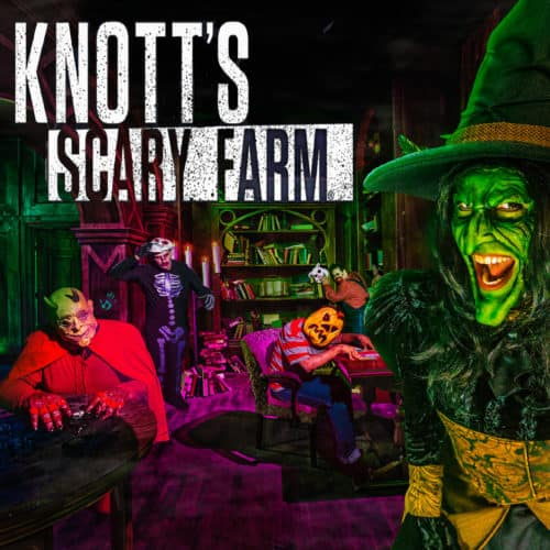 KNOTT'S SCARY FARM - THEME PARK HAUNTED HOUSES HAUNT