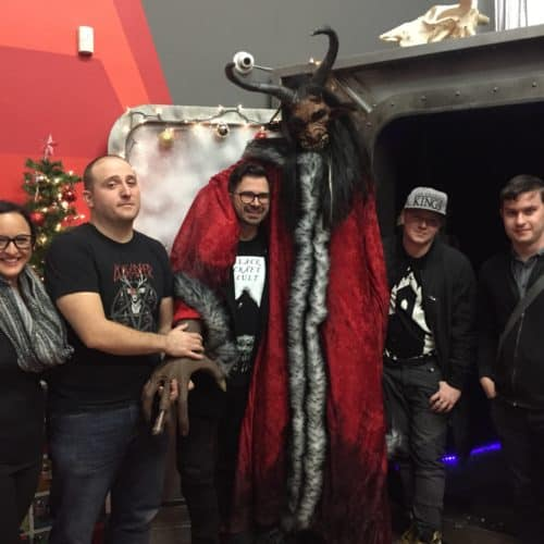 Haunting Haunting.net Escape Room Countdown Live Escape Games Krampus