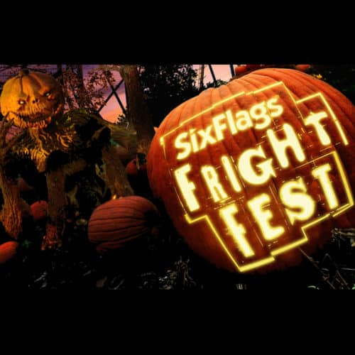 Six Flags fright fest