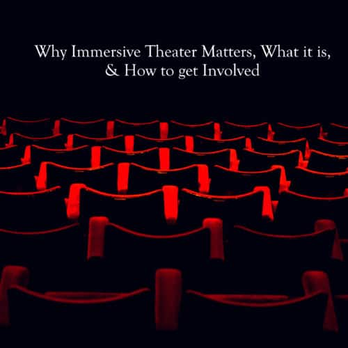 Immersive theater matters haunting