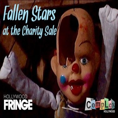 Hollywood Fringe Festival Immersive Theater Fallen Stars at The Chairty Sale