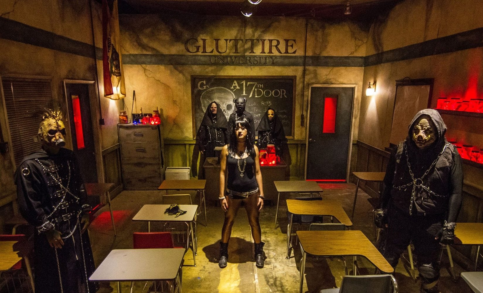 17th door - haunted house - extreme - tustin - immersive theater