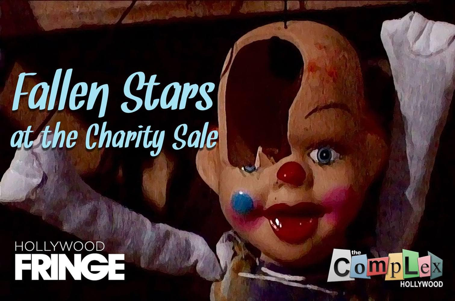 Fallen Stars Charity Sale Hollywood Fringe LA Theater Theatre LARP live action roleplay