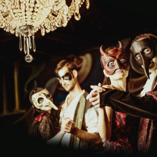 Into the film - phantom of the opera immersive theater at the historical women club of santa monica