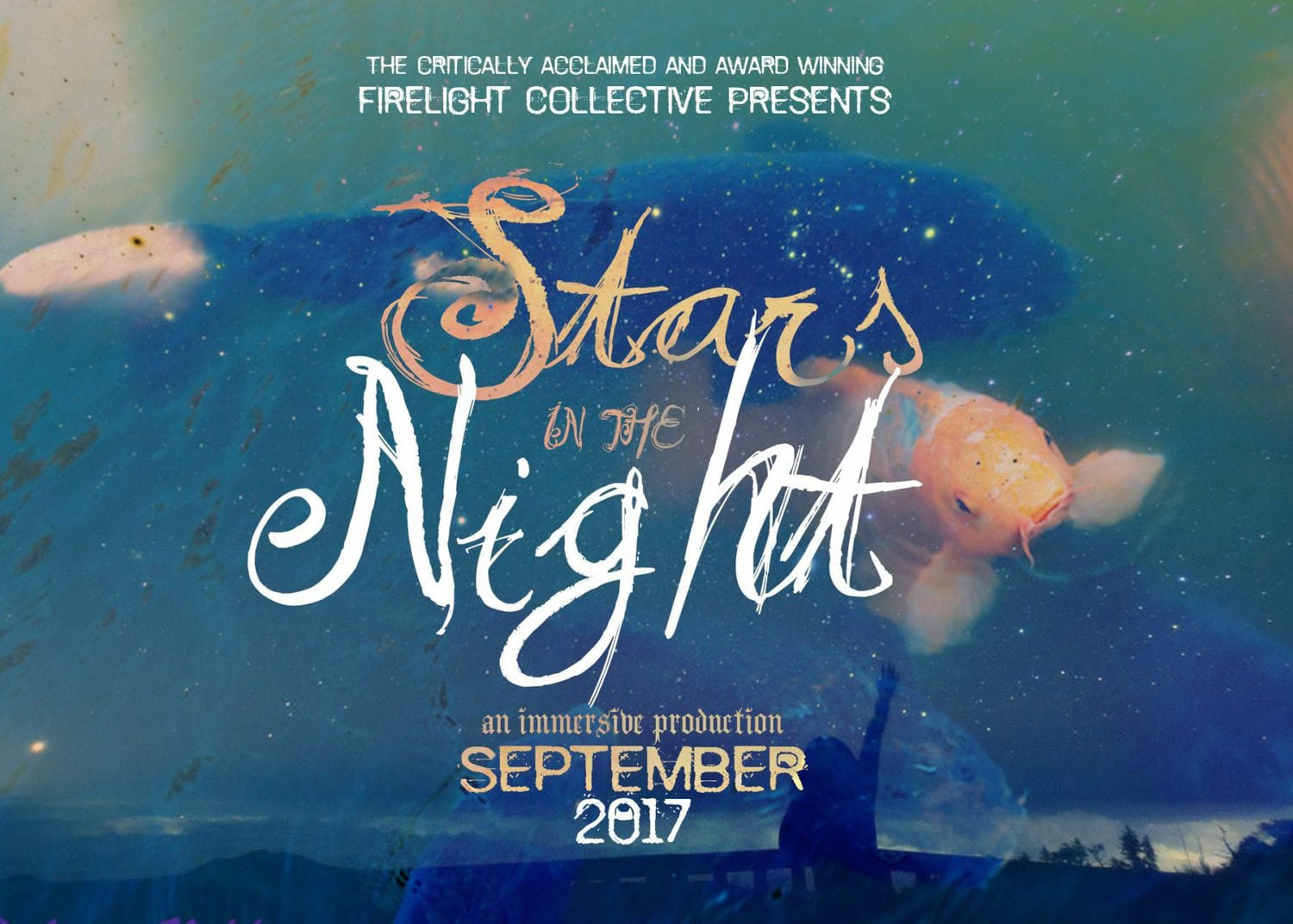 Firelight Collective - Nathan Keyes Stephanie Feury Studio Theater - Stars in the Night