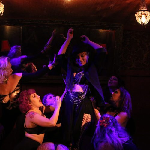 cabaret le fey burlesque erotic horror dancing vampire lounge