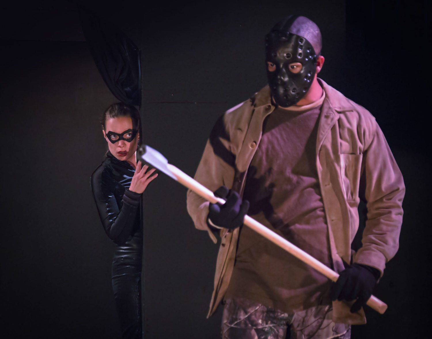 school of night final girl play horror theater andrea nelson eric rollins