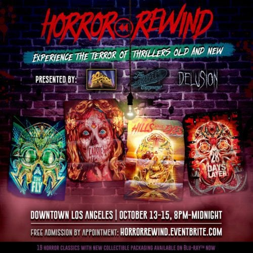 Horror Rewind - A Halloween Attraction from The Great Company & the Creators of Delusion