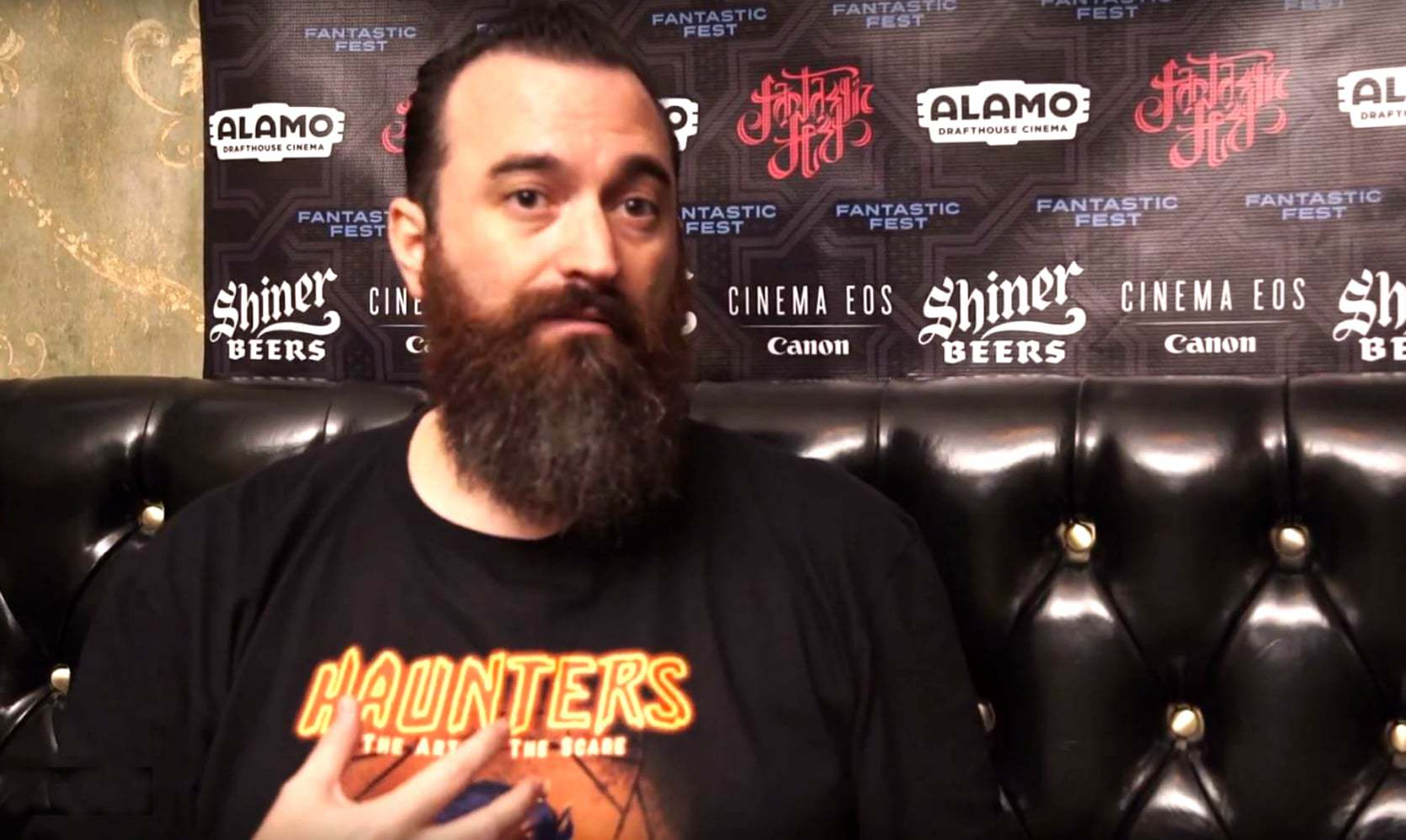 Haunters: The Art of the Scare - Fantastic Fest Interview with Jon Schnitzer - World Premier - Haunt Movie McKamey Manor Blackout Delusion