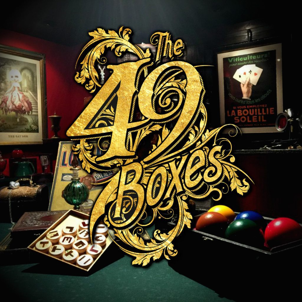 The 49 Boxes - Magic - Thayer - Michael Borys - Alex Lieu - Immersive Escape Room with Magic