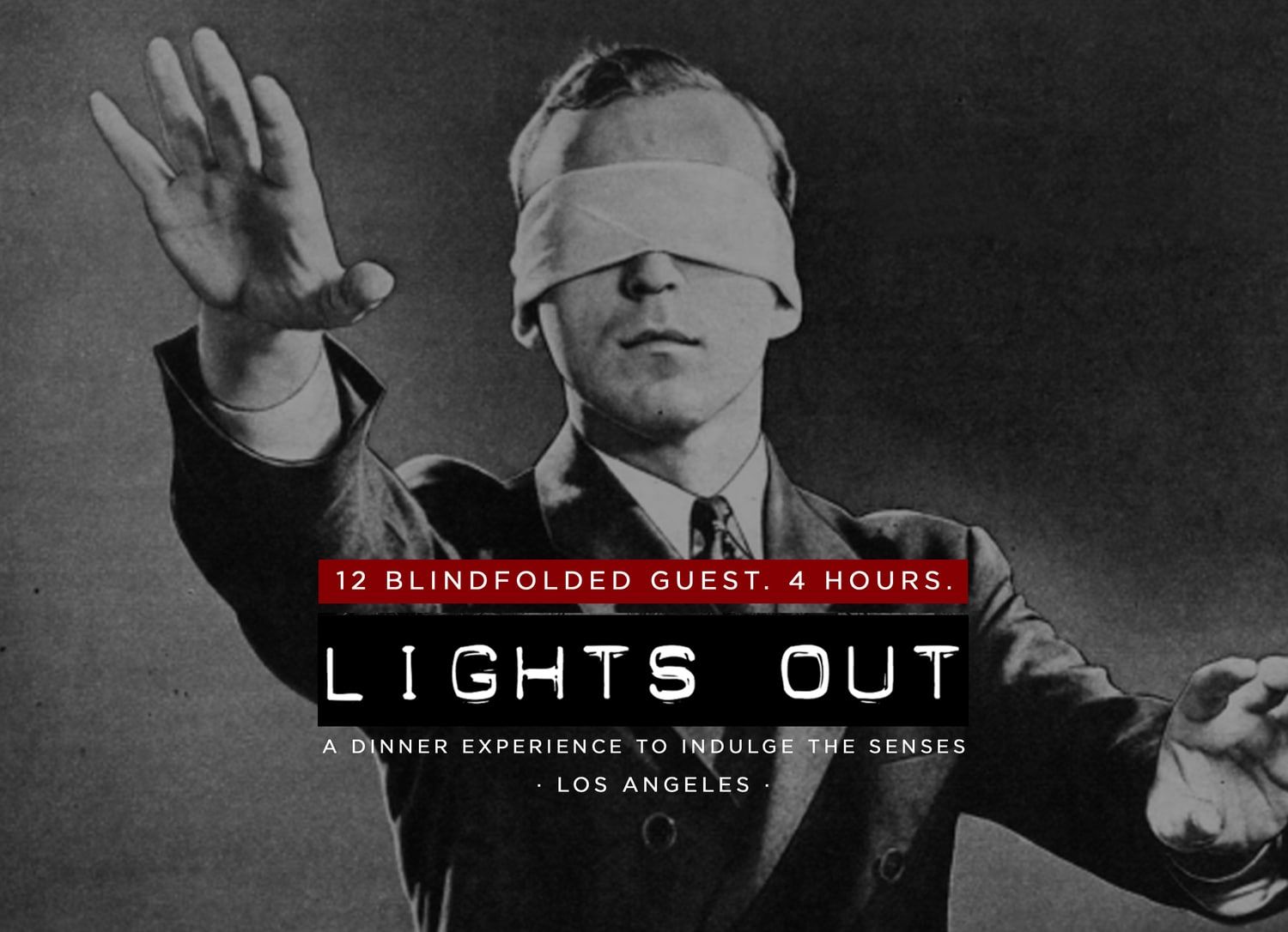 Elk Owl Society - Lights Out - Blindfolded Dinner - Blind Owl