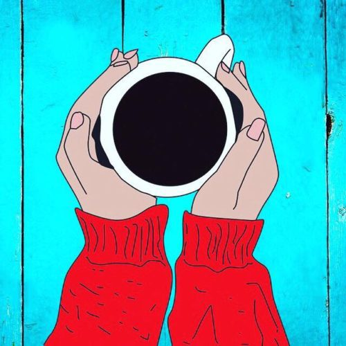 """Fringe 2018: Annie Lesser's """"Death & Coffee"""" is an Intimate Chat with a Serious Edge"""