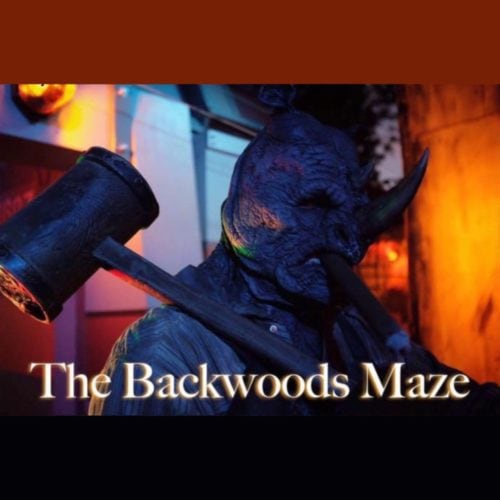 Backwoods Maze, Home Haunt, Haunted House, Walkthrough, Burbank, CA, Los Angeles