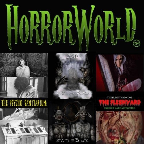 Horrorworld, Horror World, La Puente Mall, Into the Black, The Fleshyard, The Psycho Sanitarium, Haunted House, Los Angeles, La Puente, CA, Halloween,