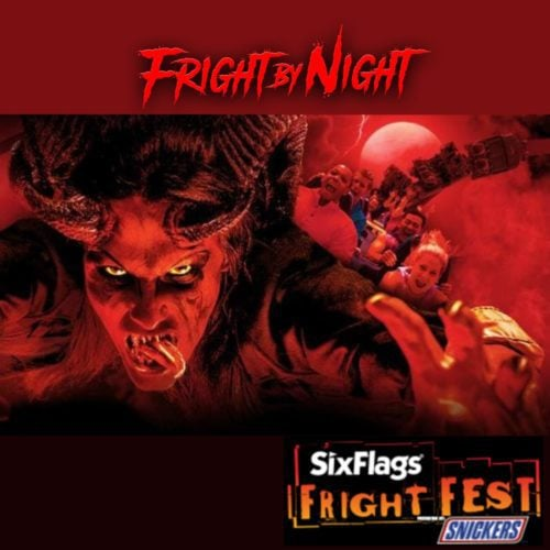 Six Flags, Fright Fest, Magic Mountain, Valencia, CA, Los Angeles, Snickers, Haunted House, Large Scale Attraction, Halloween, 2018