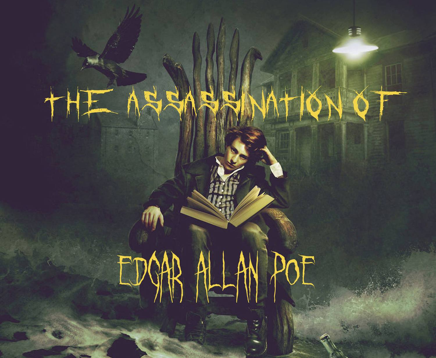Assassination of Edgar Allen Poe, Downtown Repertory Theater, Los Angeles, Pico House, CA, Immersive