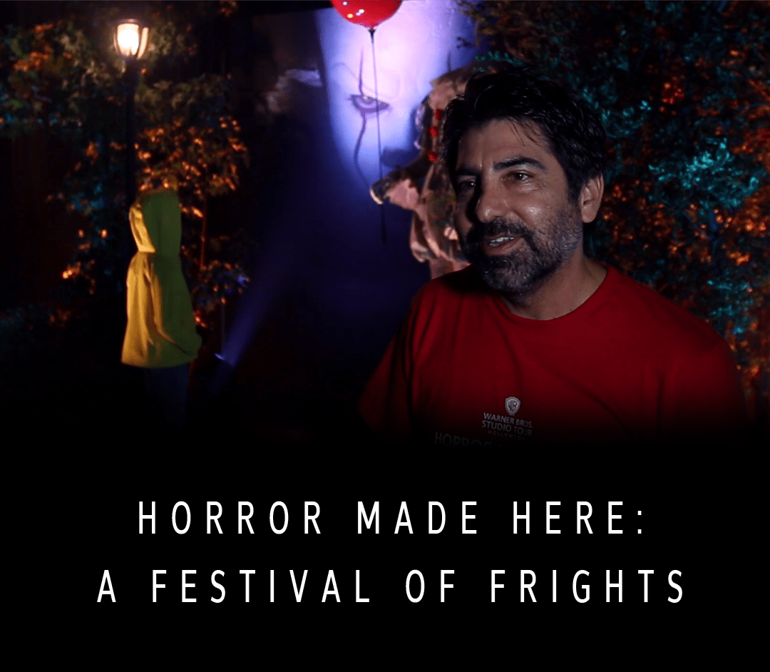 Horror Made Here - A Festival of Frights - Warner Bros Studio Tour - Danny Kahn - Dark Maze - Haunted House - Halloween