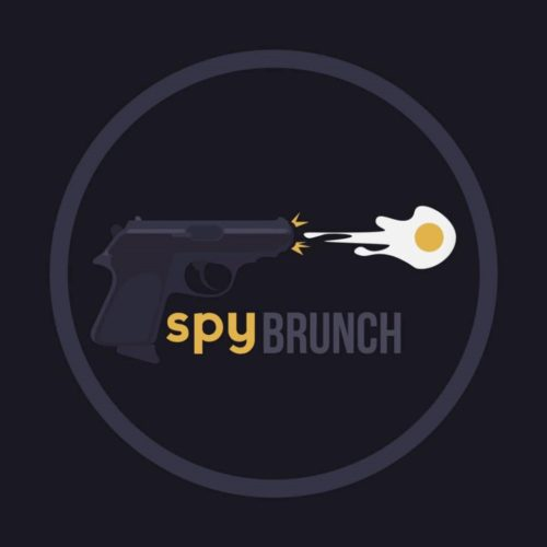 Spy Brunch LLC, Logo, Full Zide