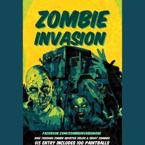 Zombie Invasion, ASG, Action Star Games, Paintball, Perris, CA, Riverside, Haunt