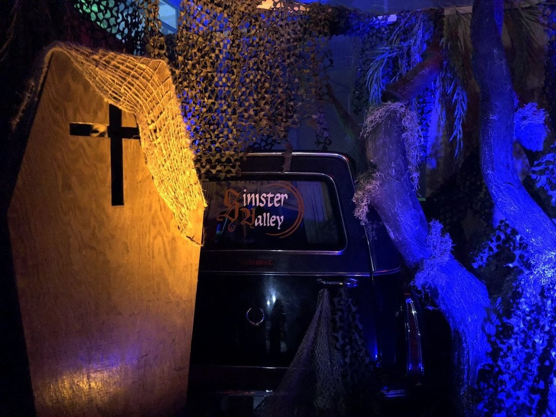 sinister valley field of screams lake elsinore haunted stadium haunt attraction event inland empire