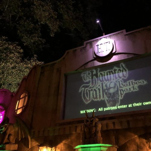 Haunted Hotel and Haunted Trail Present a Classic San Diego Combo