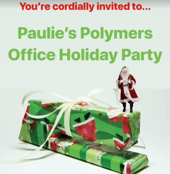 Paulie Polymer's Office Holiday, Immersive Theater, Los Angeles, Christmas, 2018