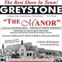 The Manor, Greystone Manor, Beverley Hills, CA, Immersive, Processional, Theatre 40