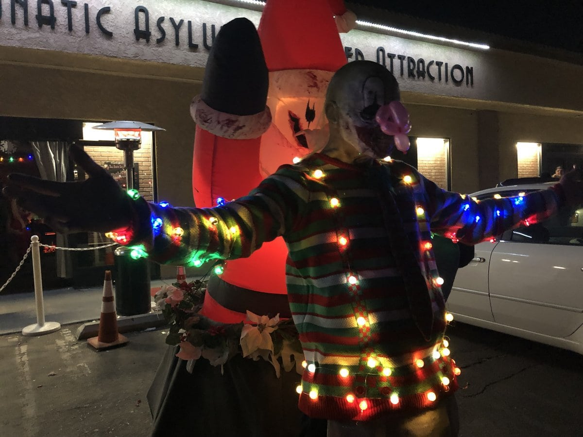 all saints lunatic asylum apple valley high desert haunted house attraction christmas holiday