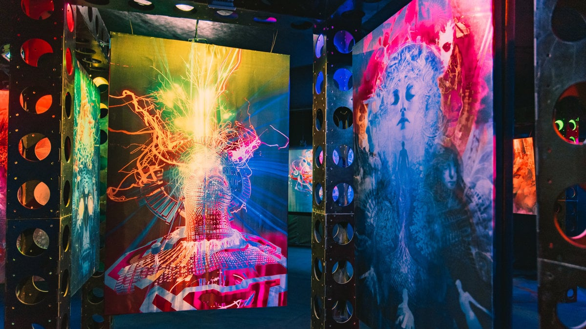 wisdome los angeles la downtown dtla immersive art projection virtual reality 360 samskara