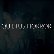 Quietus Horror, Logo, Immersive Guide, Text Image