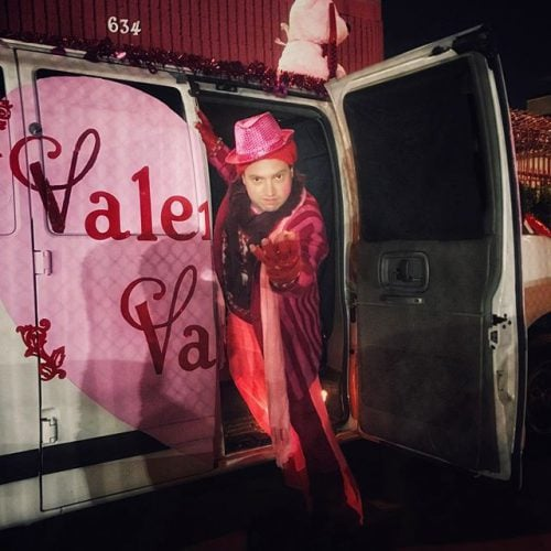 Feeling The Love With The Rogue Artists Ensemble's Valentine Van