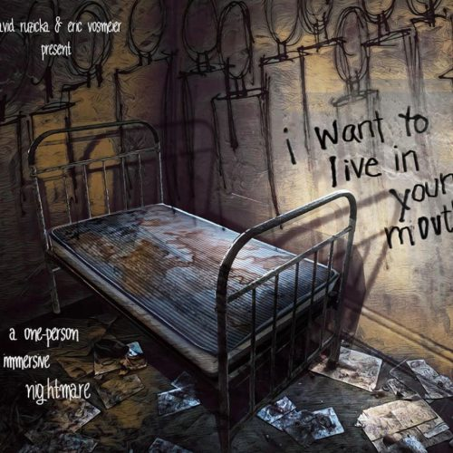 I want to live in your mouth, Immersive Horror, Los Angeles, ZJU, David Ruzika