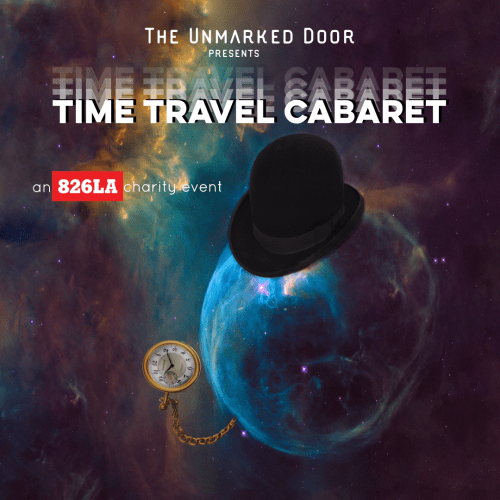 Time Travel Cabaret poster