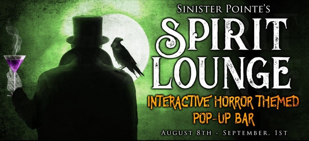 The Spirit Lounge, Sinister Point, Immersive, Pop-Up, Drinner & Drinks, Brea, CA