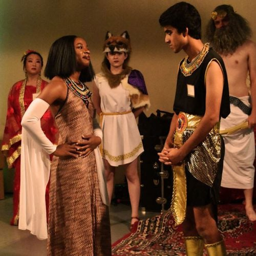 Fringe 2019 - Ascend - Playing with the Gods