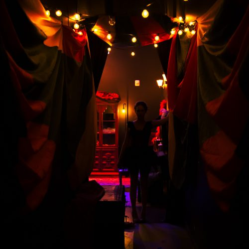 Under the Big Top: Atlas - The Backstage Beauty at Two Bit Circus
