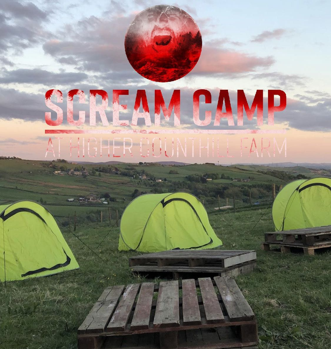 scream camp UK horror campout overnight full contact