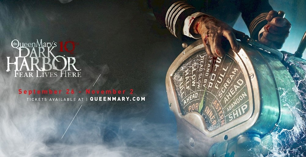 The Queen Mary's Dark Harbor 10, Large Scale Attraction, Haunt, Los Angeles, Long Beach, CA