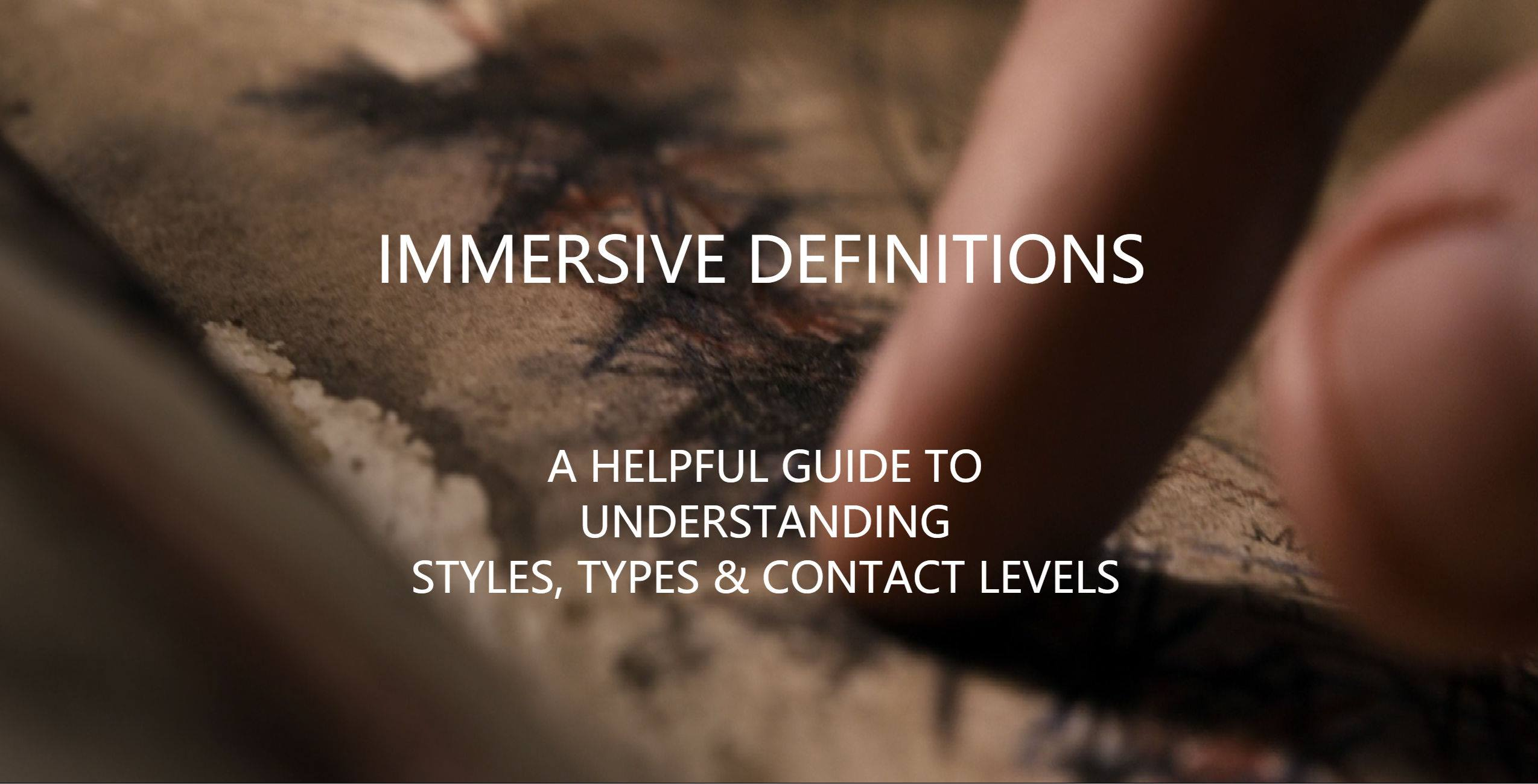 Immersive Definitions