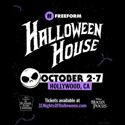 Freeform Halloween House, Installation, Los Angeles, CA, 2019