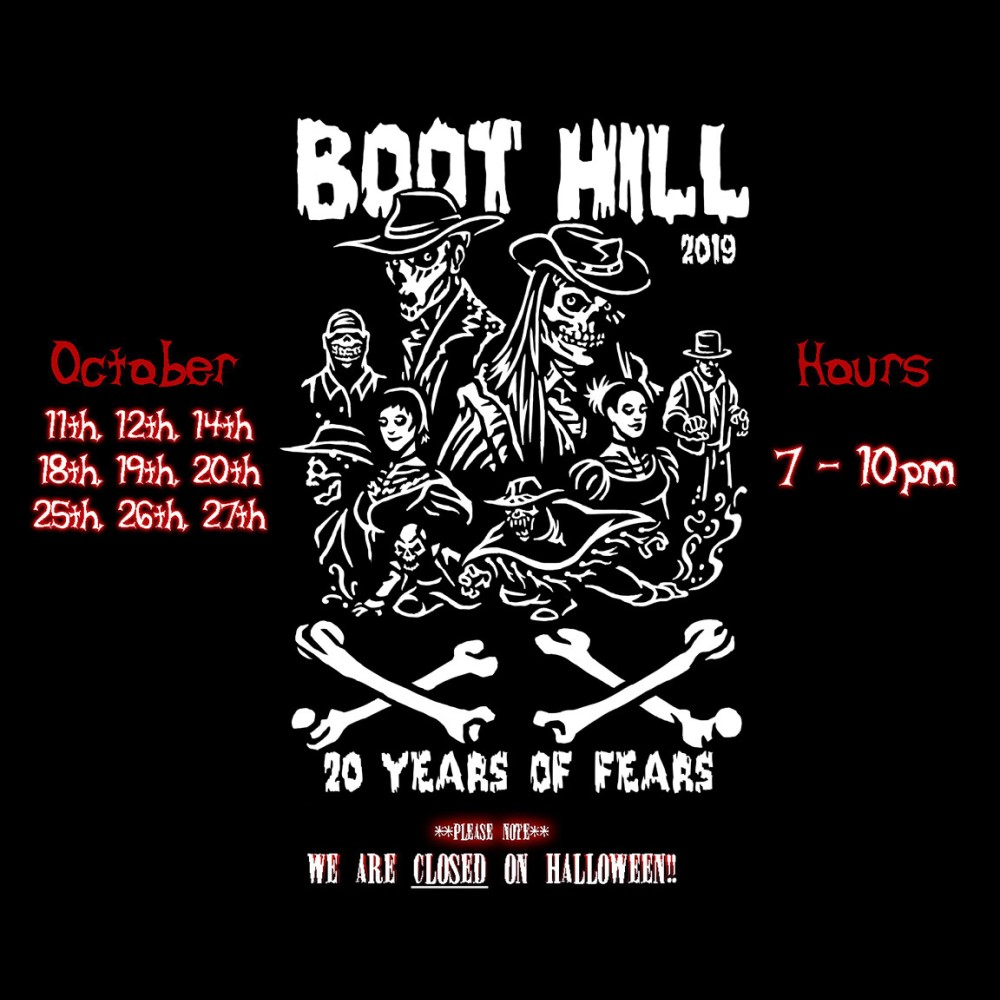 Boot Hill, Home Haunt, 20 Years of Fear, Irvine, CA