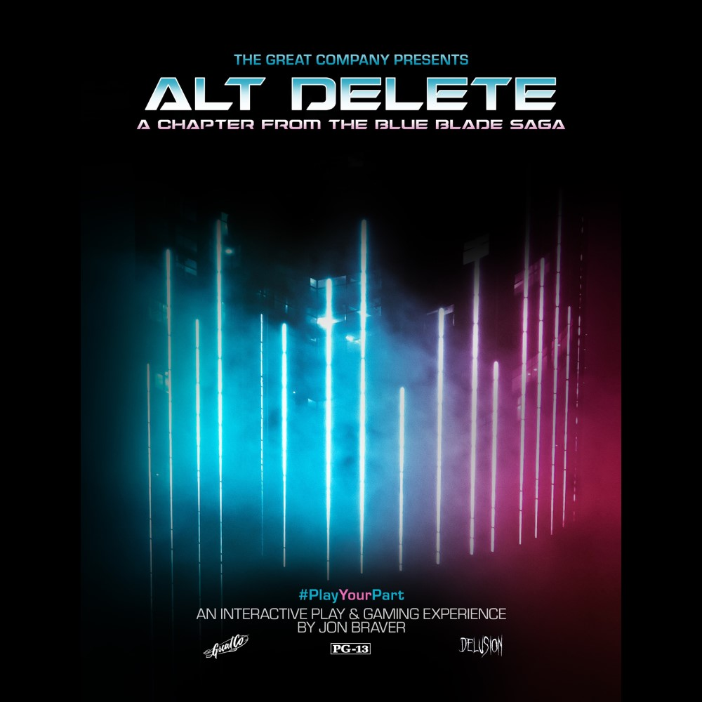 Delusion, Alt Delete, Blue Blade, Immersive Theater, Los Angeles, CA