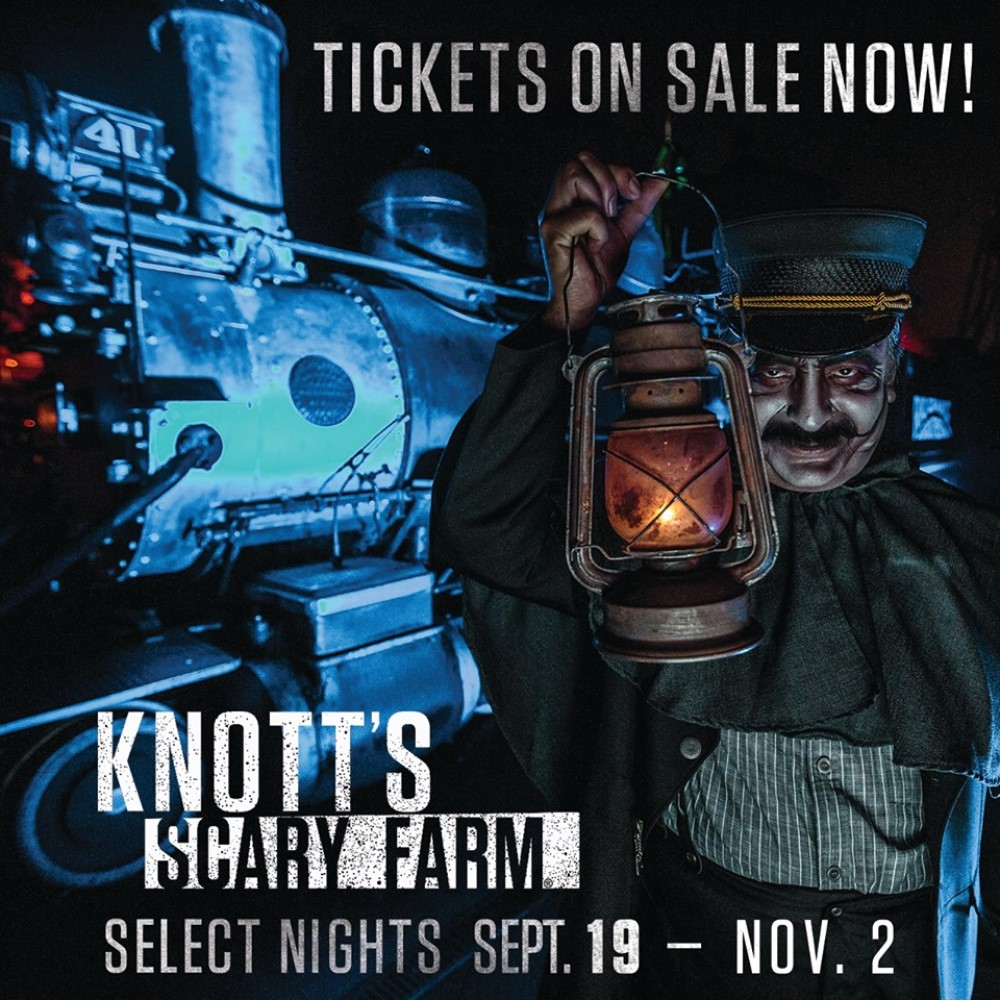Knott's Scary Farm, 2019, large Scale Attraction, Buena Park, CA, Orange County, Haunt, Mazes