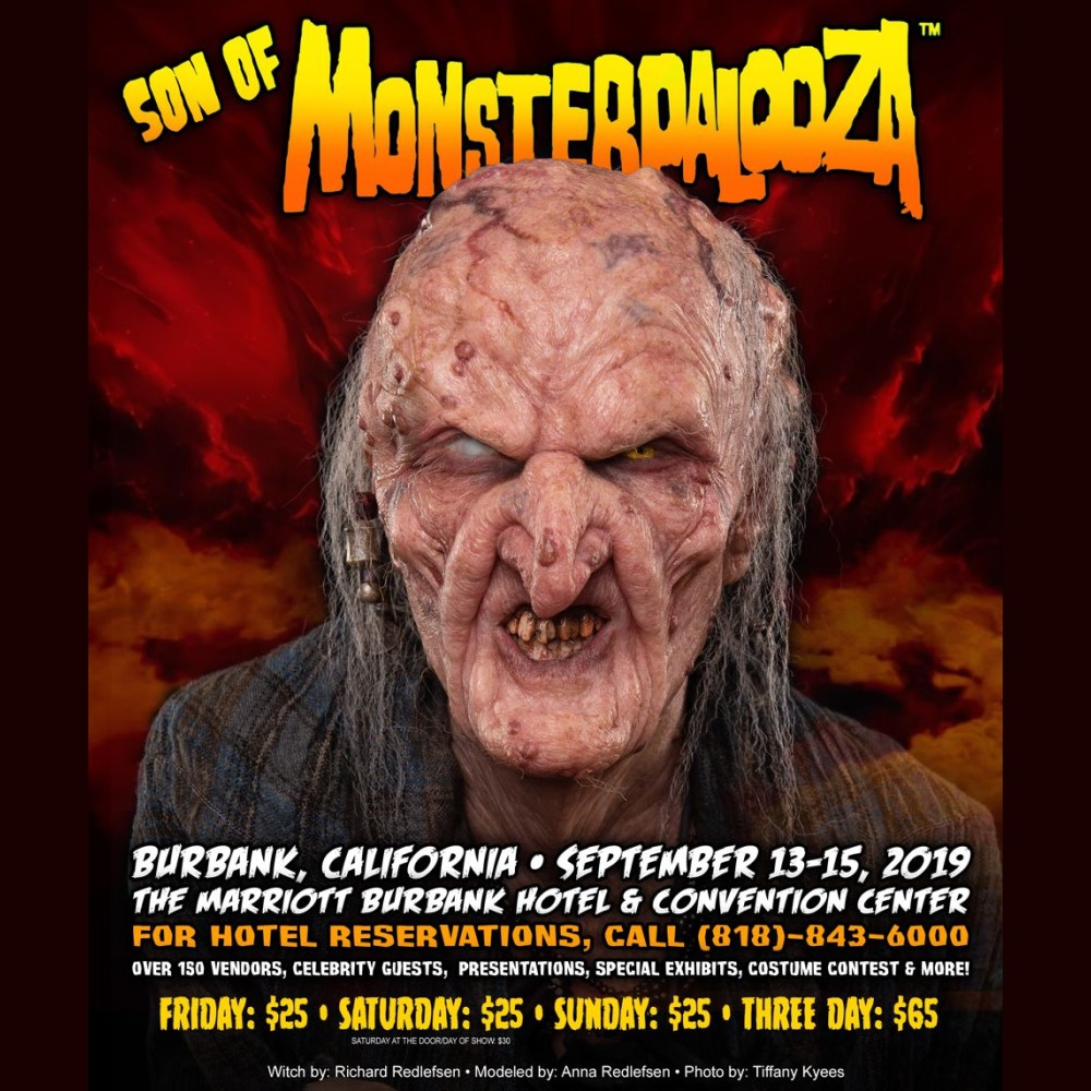 Son of Monsterpalooza, Convention, Burbank, CA, September 2019
