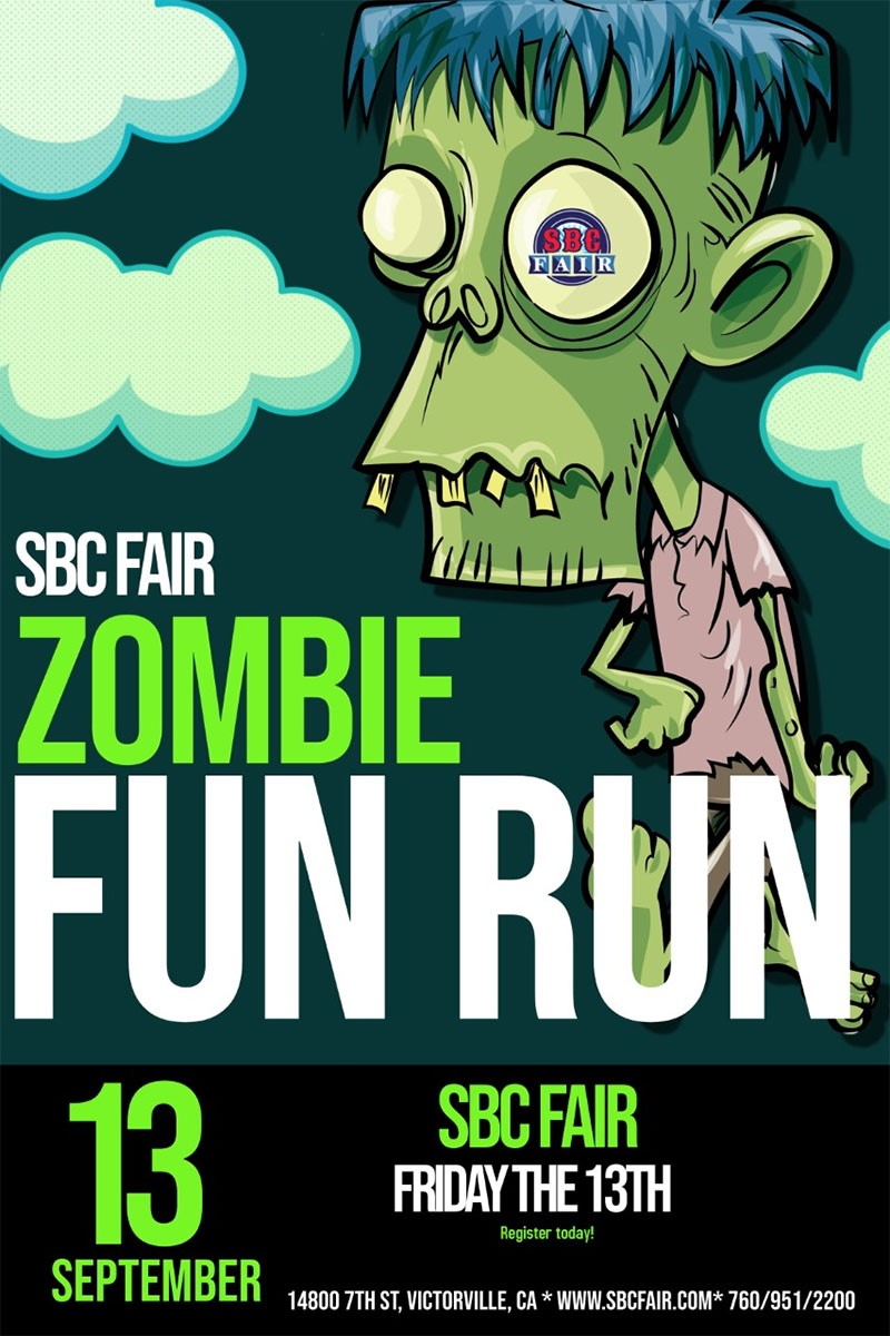 San Bernadino, County Fair, Zombie Fun Run, CA, Victorville
