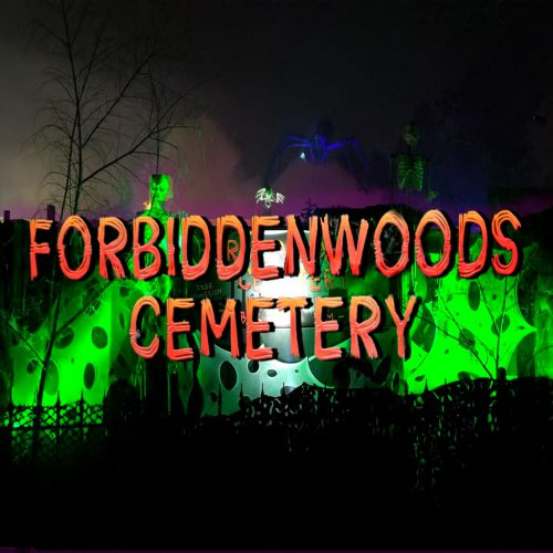 Forbidden Woods Cemetery, Home Haunt, Los Angeles, CA