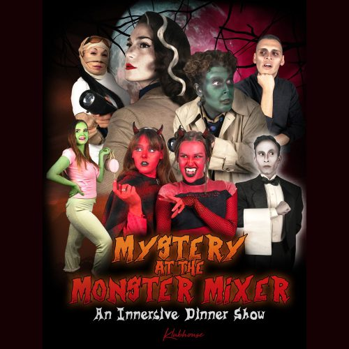 Mystery at the Monster Mixer, Immersive, Dinner & Drinks, Fullerton, CA