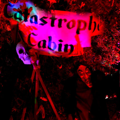 Catastrophe Cabin - Yard Display Witches Halloween