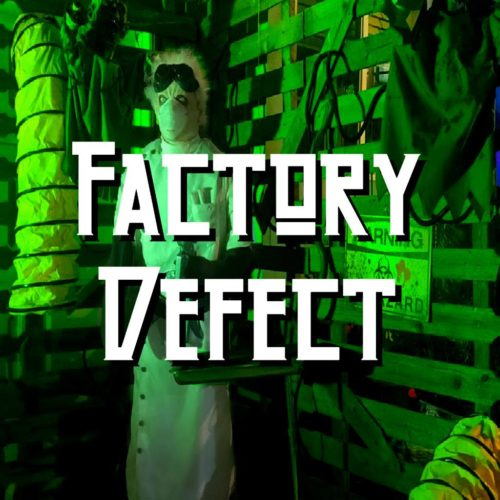 Factory defect - Mad Scientist Halloween Yard Display Haunt Horror