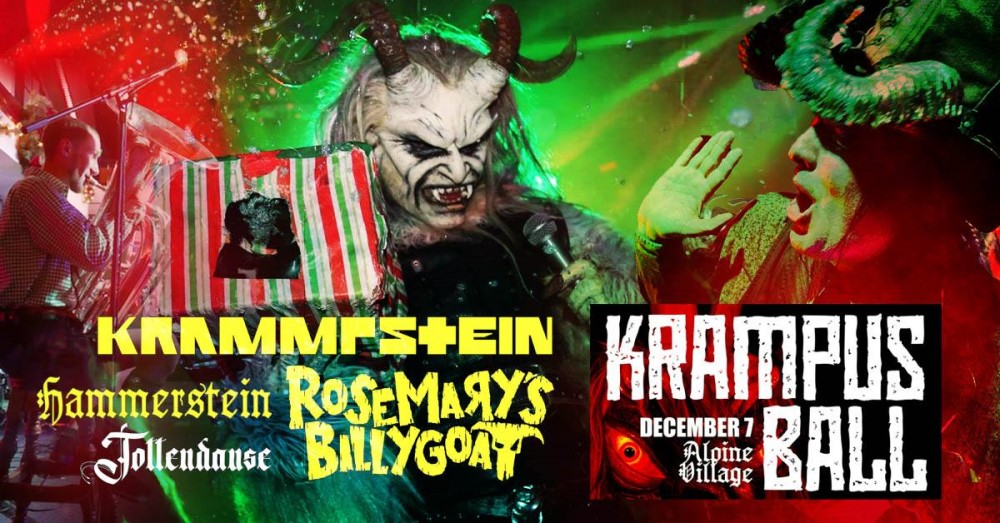 Krampus Ball, Krampus Los Angeles, Alpine Village, Los Angeles, CA, Torrance, Performance Theater